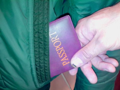 Объектами посягательства ночных грабителей стали паспорт и трудовая книжка