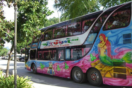 В аварии автобуса в Таиланде пострадали 23 россиянина
