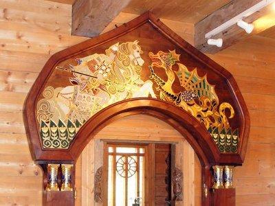 В «Теремок» вернулось уникальное панно княгини Тенишевой