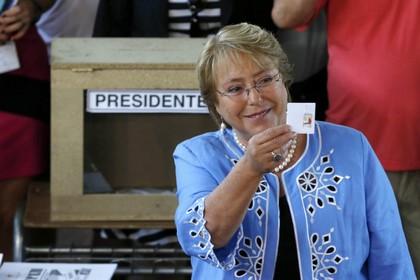 Мишель Бачелет выиграла президентские выборы в Чили