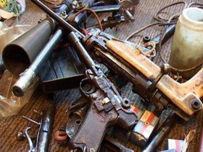 Безработный вязьмич превратил свое жилище в оружейный арсенал