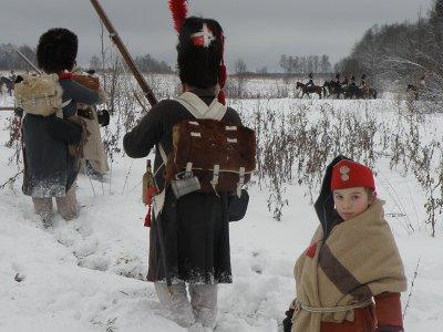Смоляне поучаствовали в реконструкции сражения при Березине на Бородинском поле