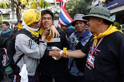 Демонстранты вошли в Дом правительства в Бангкоке