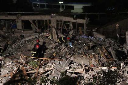 В Сан-Паулу обрушился пятиэтажный дом
