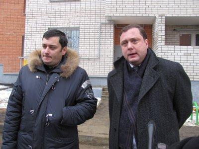 Говоря об обманутых дольщиках, Островский впервые похвалил Антуфьева