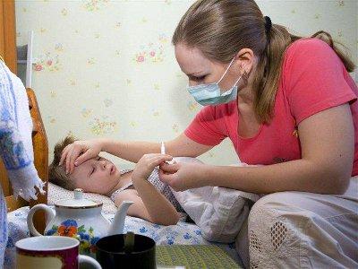 Смоленские дети продолжают грипповать