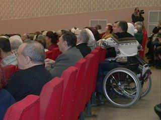 В Смоленске устроили торжественное мероприятие в честь Всемирного дня инвалидов