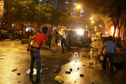 В Сингапуре впервые за 44 года произошли беспорядки