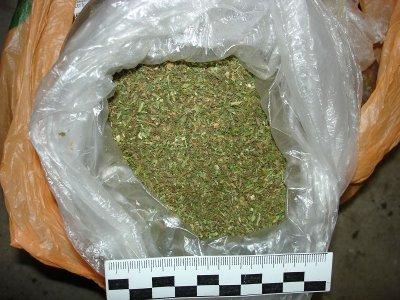 У смолянина дома нашли более полутора килограммов марихуаны