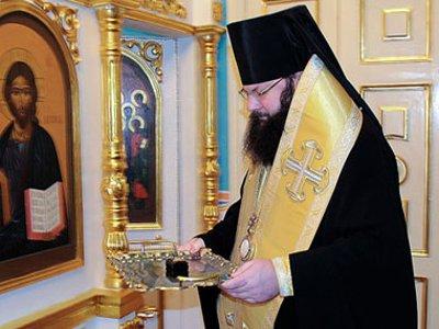 В Смоленск привезли мощи Сергия Радонежского