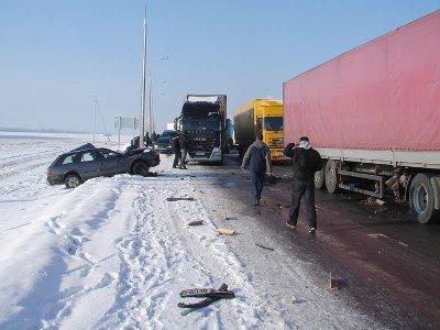 Трассу М1 причислили к дорогам с недостаточной безопасностью