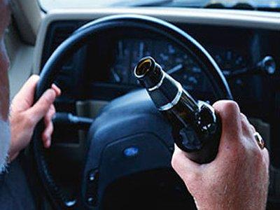 В праздники за рулем поймали свыше сотни пьяных водителей