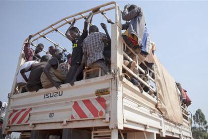 Число беженцев из Южного Судана превысило 50 тысяч человек
