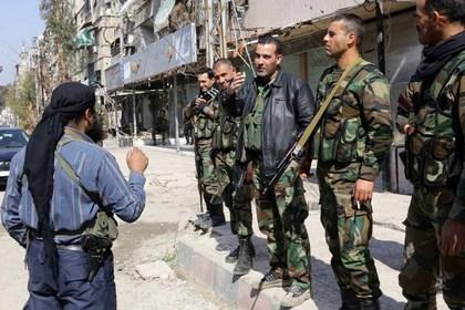 В окрестностях Дамаска военные и повстанцы заключили перемирие