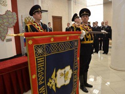 Генерал Скоков вбил первый гвоздь в новое знамя полиции