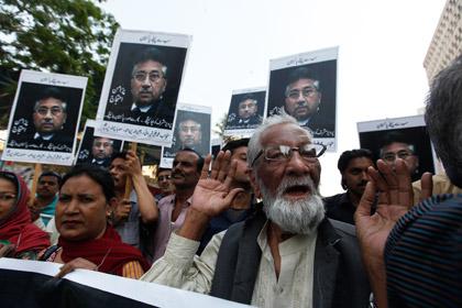 Мушаррафа обвинили в государственной измене