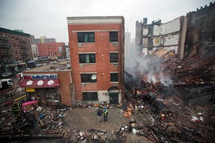 Число погибших при взрыве в Нью-Йорке возросло в два раза