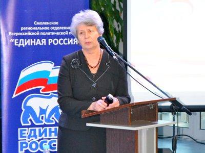 Депутат Валентина Олейникова возглавила городских единороссов