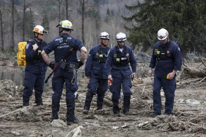 Спасатели заявили о 24 погибших в результате оползня в штате Вашингтон