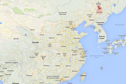 При пожаре в китайском автобусе погибли десять человек