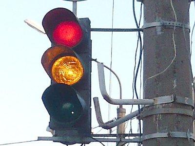 В облцентре появился новый светофор, а автобусы поменяют маршрут