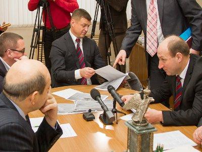 В прорыве теплосетей на проспекте Гагарина мэрия обвинила «Квадру»