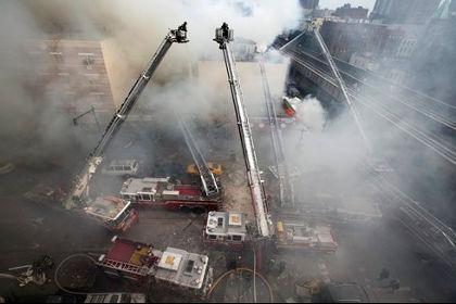 При взрыве газа на Манхэттене ранения получили более 20 человек