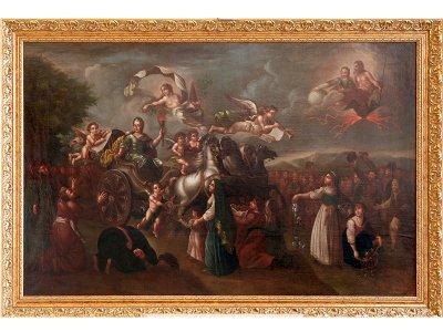 В Смоленске выставили картину «Путешествие Екатерины Великой в Крым»