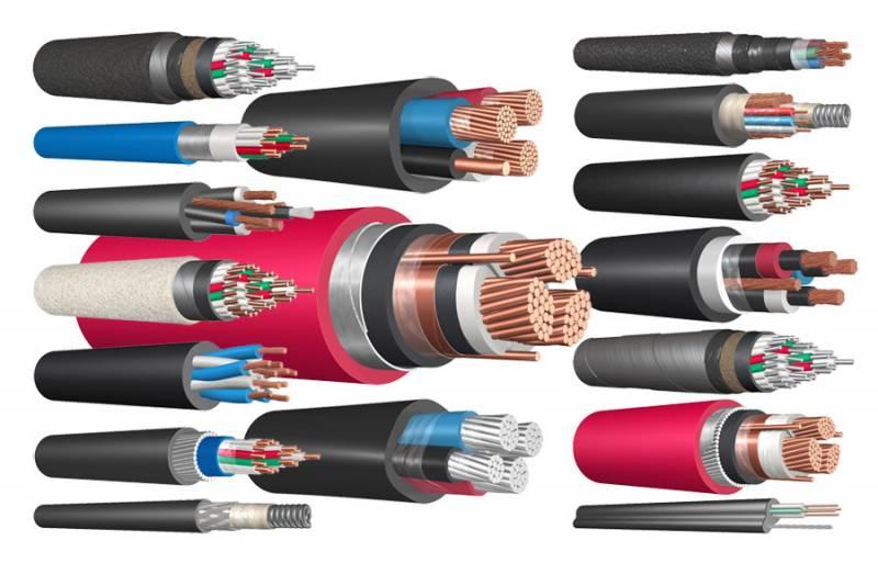 Виды и классификация кабельных изделий