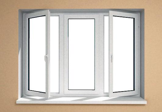 В чем заключается стандартная установка окна?