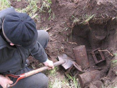 Бойцы поисковых отрядов из Сафонова стали «черными копателями»