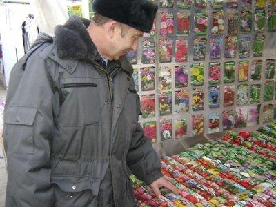 На рынках области торгуют сомнительными саженцами и семенами