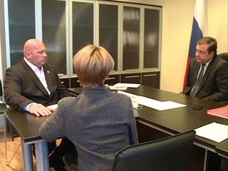 Губернатор Смоленской области Алексей Островский провел прием граждан