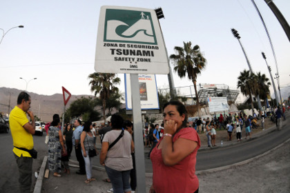 В Чили и Перу в результате сильного землетрясения погибли люди