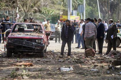 У здания университета в Каире произошло три взрыва
