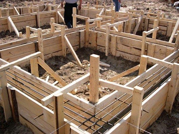 Проектирование брусового дома и начало строительства