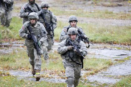 США направят армейские подразделения в Польшу и Прибалтику