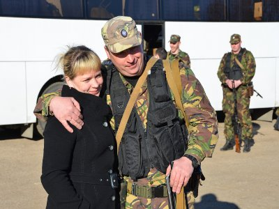 Смоленские СОБРовцы отправились в очередную командировку на Кавказ