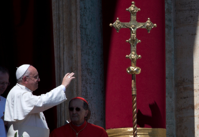 Папа Римский на Пасху помолился за мир на Украине