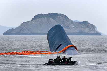 СМИ опубликовали переговоры экипажа затонувшего южнокорейского парома