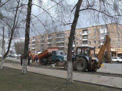 Причиной крупной аварии на Медгородке стал прокол дорожного полотна строителями