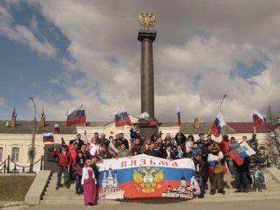 На родине адмирала Нахимова предприниматели провели автопробег в поддержку Крыма