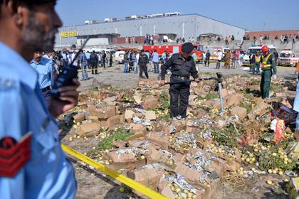 Жертвами взрыва на рынке в Исламабаде стали 23 человека