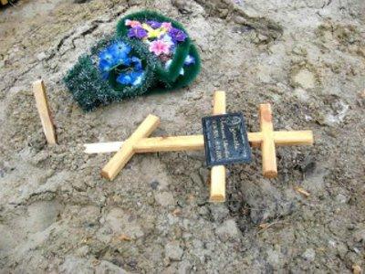 Похищение крестов психопатка объяснила желанием сделать на кладбище уборку