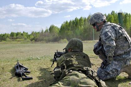В Литве начались крупные учения с участием США