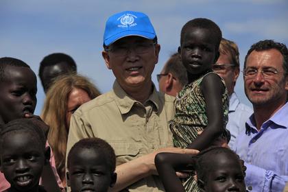 Пан Ги Мун предложил создать трибунал по Южному Судану