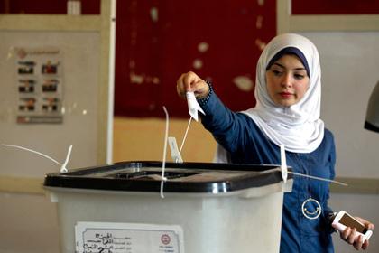 Нового президента Египта выбирали примерно 40 процентов электората