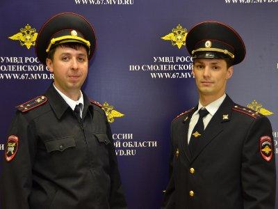 Полицейским, вытащившим из горящей ночлежки двух бомжей, вручили награды