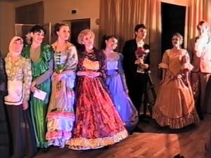 Областной фестиваль любительских театров начался с классики
