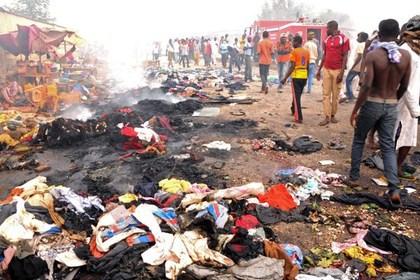 Жертвами двух взрывов в Нигерии стали почти 120 человек